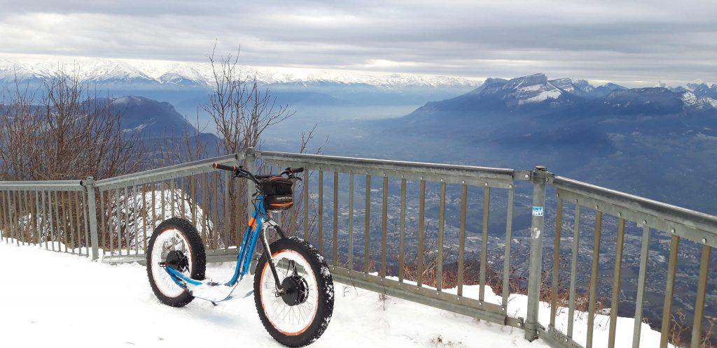 Balade trottinette Savoie